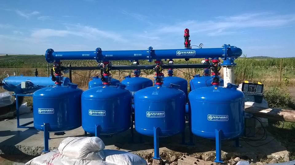 Filtros Navarro, filtración agrícola, instalaciones