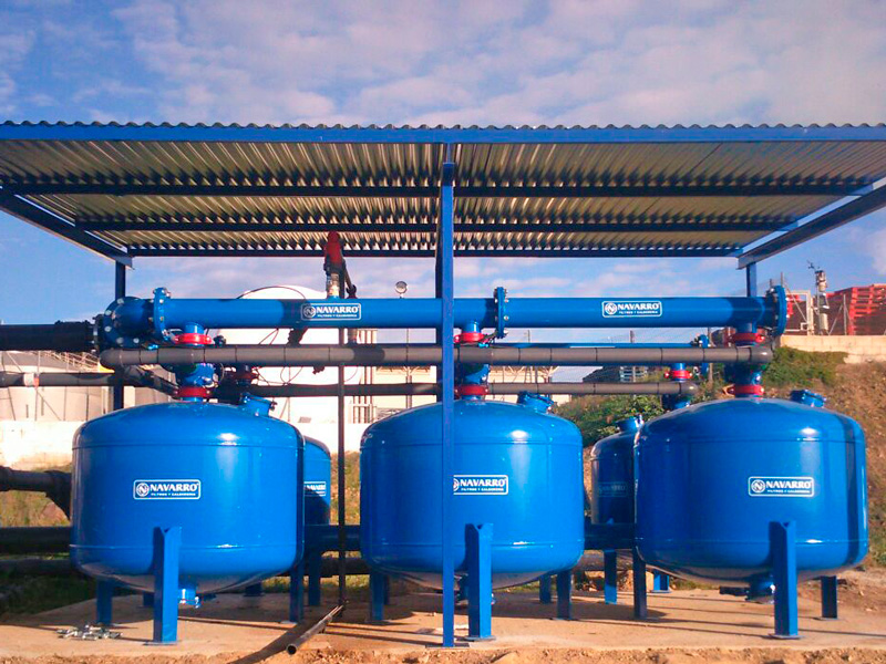 Instalaciones Industriales, Cabezales y sistemas de Filtrado Navarro